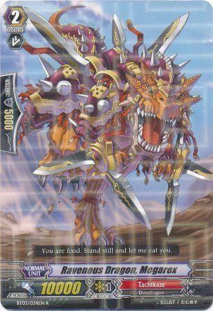 BT03/034EN (R) Ravenous Dragon, Megarex