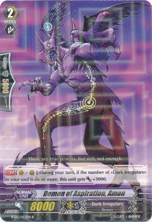 BT03/023EN (R) Demon of Aspiration, Amon