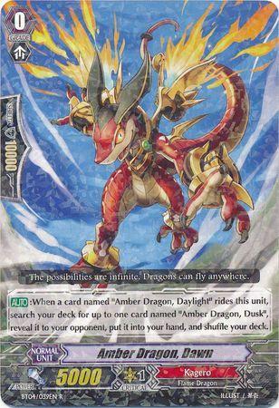 BT04/039EN (R) Amber Dragon, Dawn