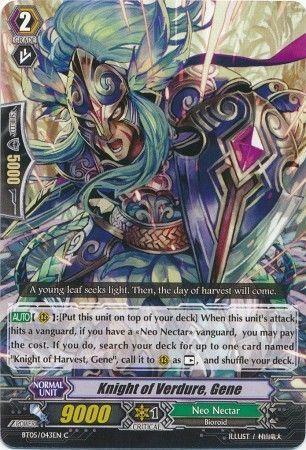 BT05/043EN (C) Knight of Verdure, Gene