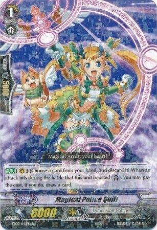 BT05/041EN (R) Magical Police Quilt