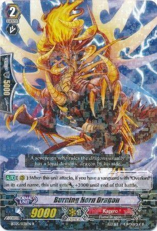 BT05/038EN (R) Burning Horn Dragon