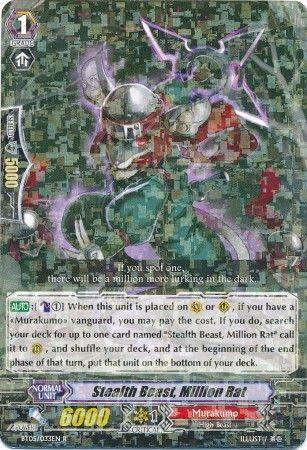 BT05/033EN (R) Stealth Beast, Million Rat