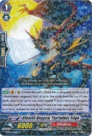 BT05/032EN (R) Stealth Dragon, Turbulent Edge