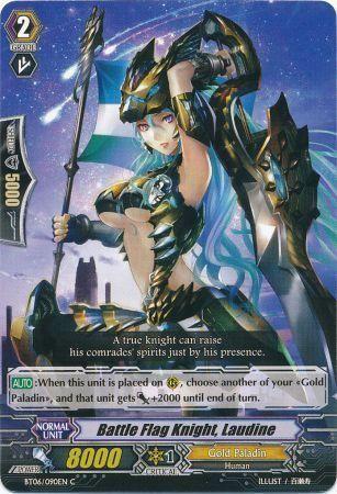 BT06/090EN (C) Battle Flag Knight, Laudine