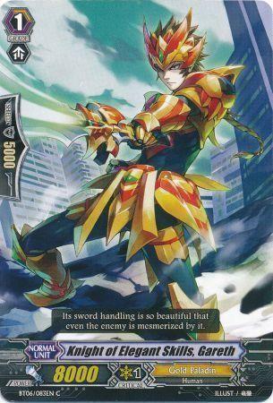 BT06/083EN (C) Knight of Elegant Skills, Gareth