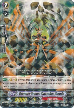 BT06/038EN (R) Demonic Dragon Berserker, Garuda