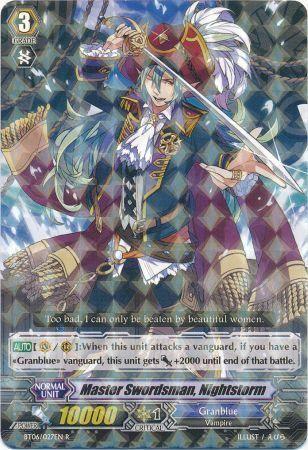 BT06/027EN (R) Master Swordsman, Nightstorm