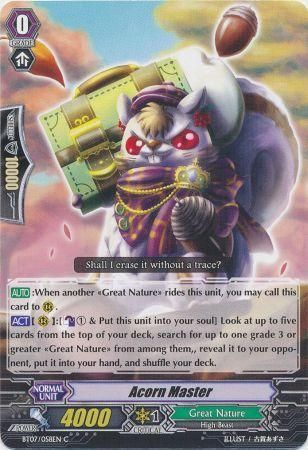 BT07/058EN (C) Acorn Master