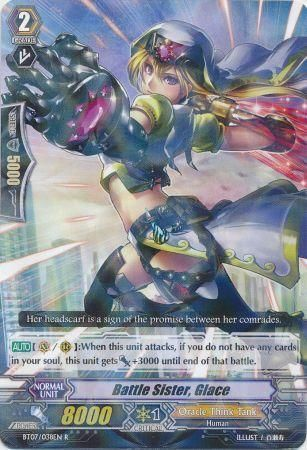 BT07/038EN (R) Battle Sister, Glace