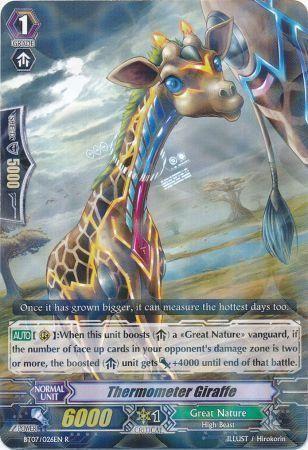 BT07/026EN (R) Thermometer Giraffe
