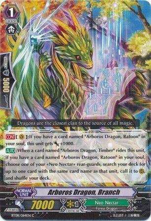 BT08/064EN (C) Arboros Dragon, Branch
