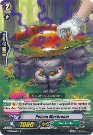 BT08/063EN (C) Poison Mushroom