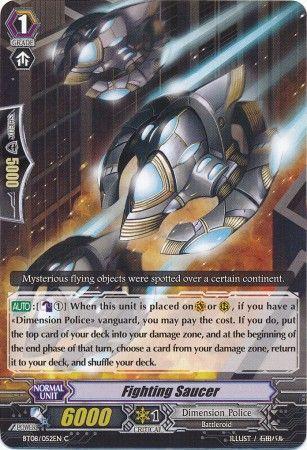 BT08/052EN (C) Fighting Saucer