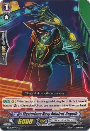 BT08/049EN (C) Mysterious Navy Admiral, Gogoth