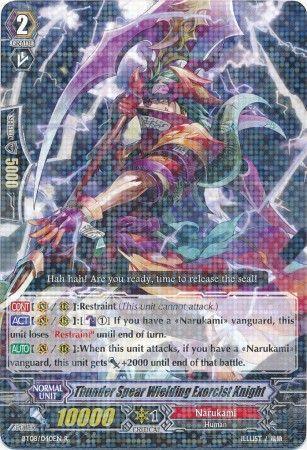 BT08/040EN (R) Thunder Spear Wielding Exorcist Knight