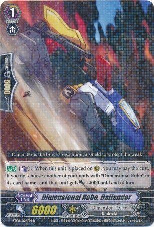 BT08/025EN (R) Dimensional Robo, Dailander