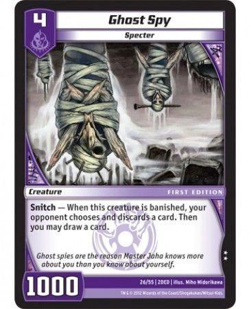 2DED-26/55 (U) Ghost Spy