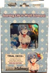 "Weiss Schwarz English Trial Deck+ ""Re:Zero -Starting Life in Another World-"" by Bushiroad"