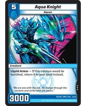 3RIS-35/165 (R) Aqua Knight