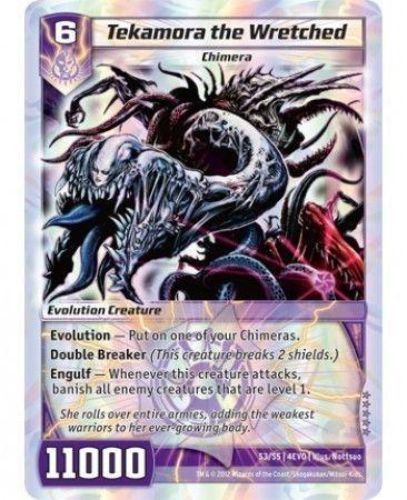 4EVO-S3/S5 (SR) Tekamora the Wretched