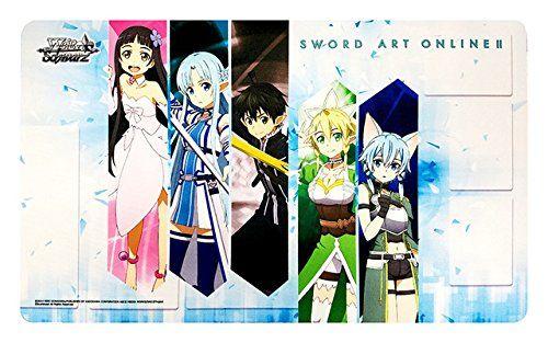 """Weiss Schwarz Rubber Mat """"Sword Art Online II"""" by Bushiroad"""