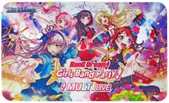 "Weiss Schwarz Rubber Mat ""BanG Dream! Girls Band Party! MULTI LIVE"" by Bushiroad"