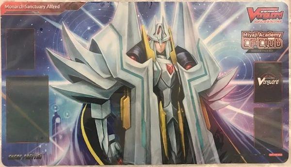 "Cardfight!! Vanguard Rubber Mat ""Miyaji Academy CF Club (Monarch Sanctuary Alfred)"" by Bushiroad"
