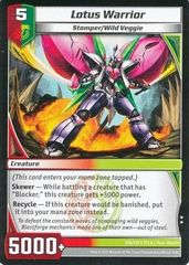7CLA-106/110 (U) Lotus Warrior