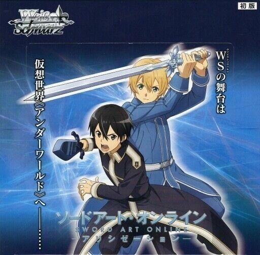 "Weiss Schwarz Japanese Booster Box ""Sword Art Online -Alicization-"" by Bushiroad"