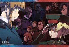 "Rubber Mat Collection ""The Saga of Tanya the Evil Movie"" Vol.325 by Bushiroad"