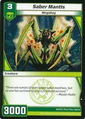 7CLA-65/110 (C) Saber Mantis