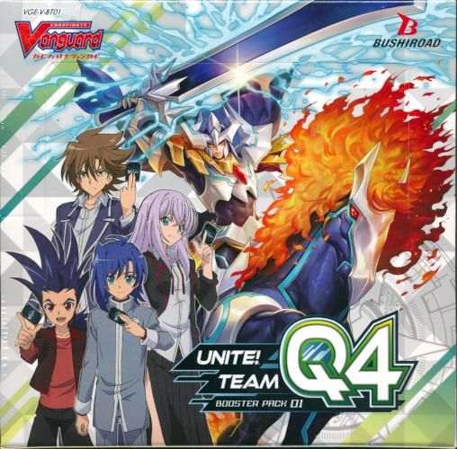 "Cardfight!! Vanguard G Booster Pack Vol.01 ""Unite! Team Q4"" VGE-V-BT01 by Bushiroad"