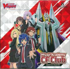 "Cardfight!! Vanguard Booster Pack Vol.03 ""Miyaji Academy CF Club"" VGE-V-BT03 by Bushiroad"