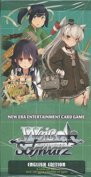 "Weiss Schwarz English Booster Box ""Kantai Collection: KanColle 2nd Fleet"" by Bushiroad"