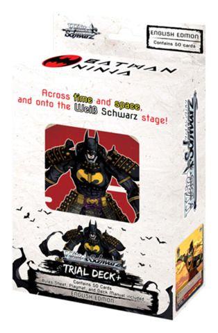 "Weiss Schwarz English Trial Deck+ (Plus) ""Batman Ninja"" by Bushiroad"