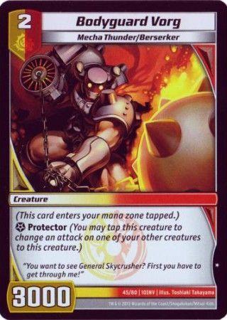 10INV-45/80 (C) Bodyguard Vorg