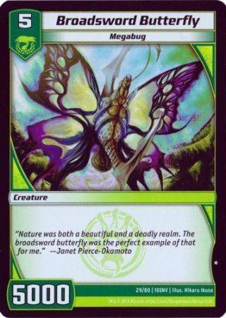10INV-29/80 (C) Broadsword Butterfly