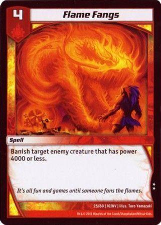 10INV-25/80 (U) Flame Fangs