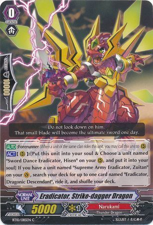 BT10/085EN (C) Eradicator, Strike-dagger Dragon