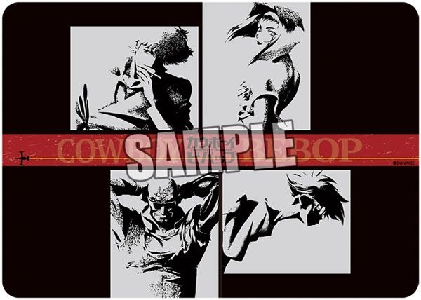 "Character Universal Rubber Mat ""Cowboy Bebop"" by Broccoli"