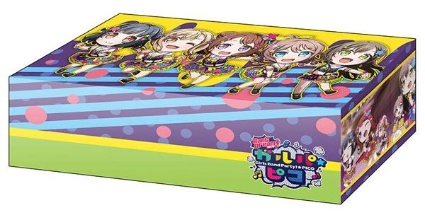 """Storage Box Collection """"BanG Dream! Girls Band Party! PICO [Poppin'Party Colorful Poppin]"""" Vol.332 by Bushiroad"""