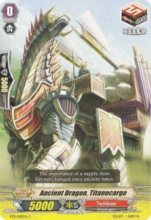 BT11/085EN (C) Ancient Dragon, Titanocargo