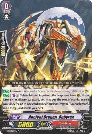 BT11/082EN (C) Ancient Dragon, Babyrex
