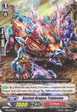 BT11/079EN (C) Ancient Dragon, Triplasma