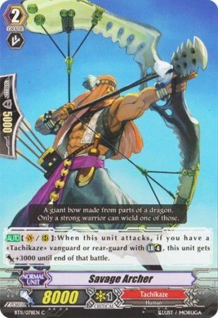 BT11/078EN (C) Savage Archer
