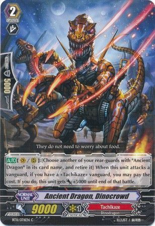BT11/076EN (C) Ancient Dragon, Dinocrowd
