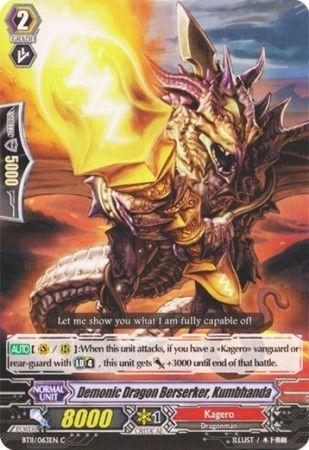 BT11/063EN (C) Demonic Dragon Berserker, Kumbhanda