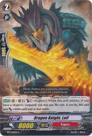 BT11/062EN (C) Dragon Knight, Lotf