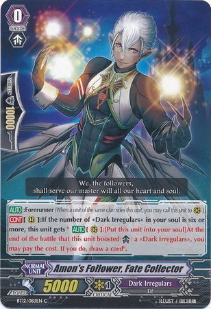 BT12/083EN (C) Amon's Follower, Fate Collector
